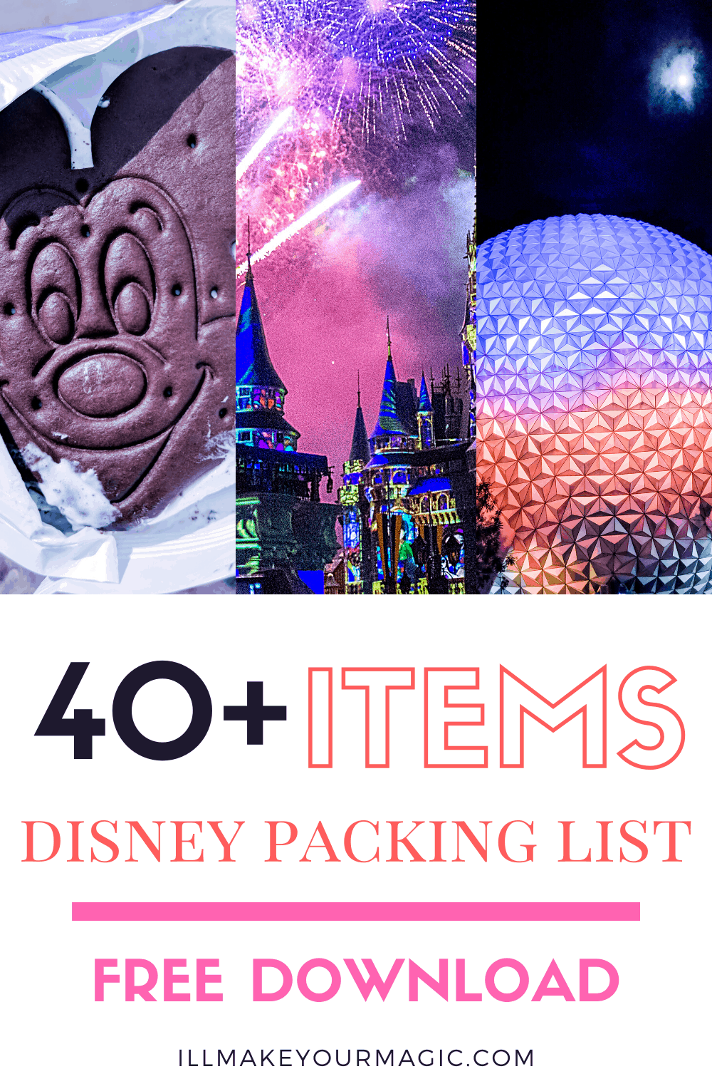 Disney World Packing List Printable